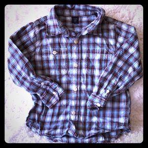 Boys Gap button up shirt